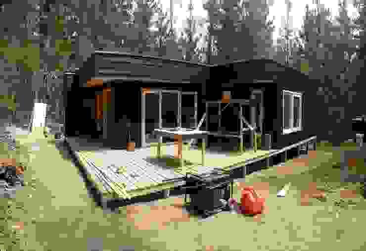 Casas de madera de Incove - Casas de madera minimalistas Moderno