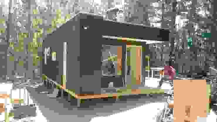 Cabañas de madera de Incove - Casas de madera minimalistas Minimalista