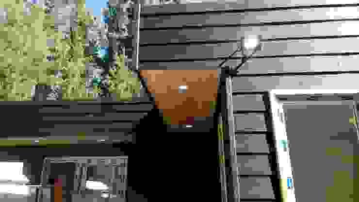 diseño de casas de madera de Incove - Casas de madera minimalistas Rural