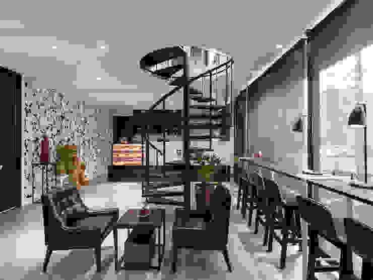座位區 根據 存果空間設計有限公司 現代風