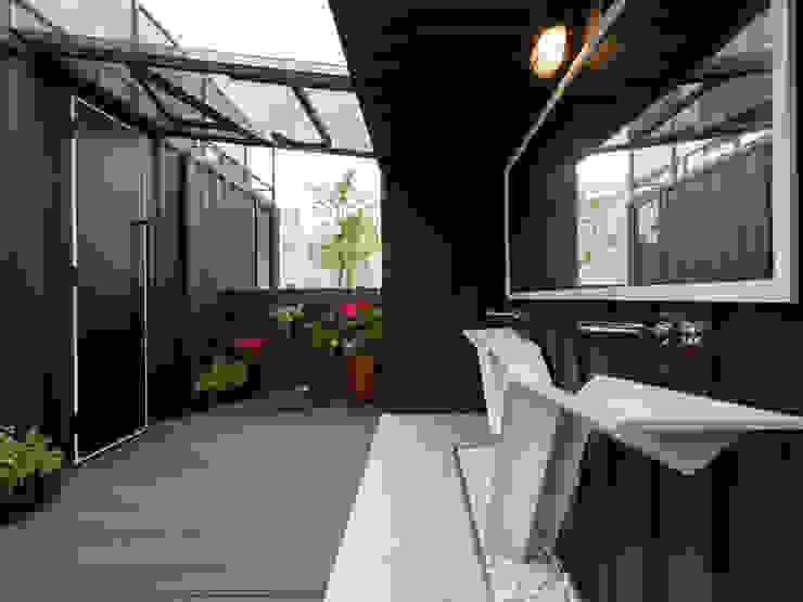 洗手間戶外空間 根據 存果空間設計有限公司 現代風