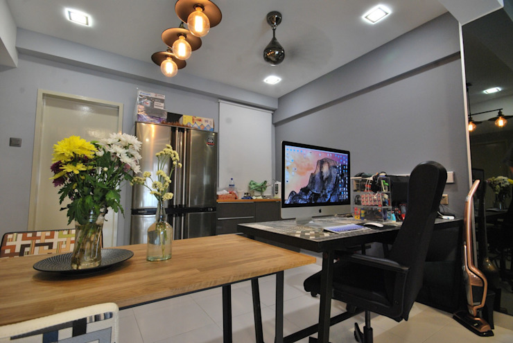 Study/office by Hatch Interior Studio Sdn Bhd