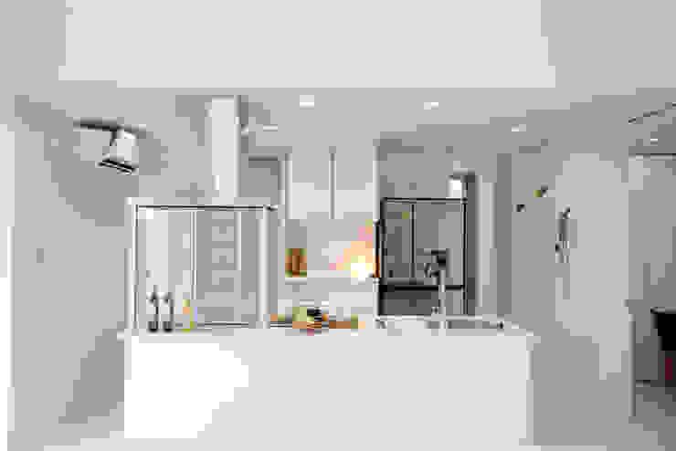 キッチン Style Create モダンな キッチン 白色