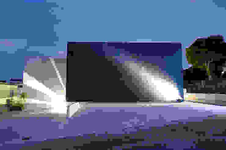 外観 Style Create 一戸建て住宅 鉄筋コンクリート 青色