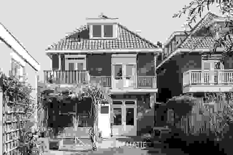 oude situatie - voor uitbouw van Bob Romijnders Architectuur + Interieur