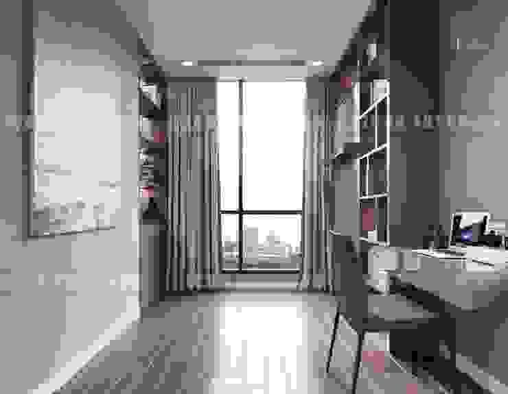 Nội thất Châu Âu hiện đại trong căn hộ Vinhomes Central Park Phòng trẻ em phong cách hiện đại bởi ICON INTERIOR Hiện đại