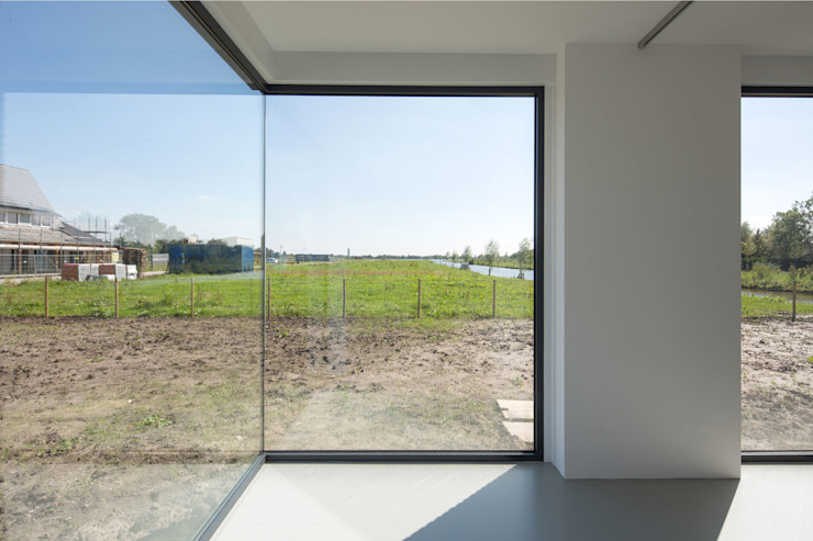 drie generaties woning | Nieuwkoop Moderne studeerkamer van JADE architecten Modern