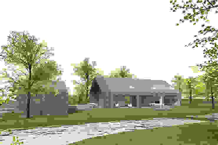 schuurwoning van JADE architecten Modern