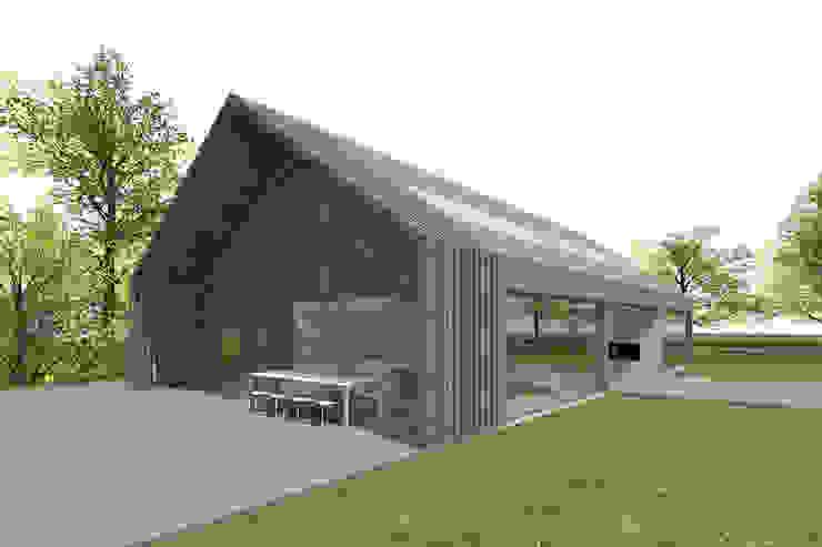 SCHUURWONING | Nieuwerkerk aan den Ijssel van JADE architecten Modern