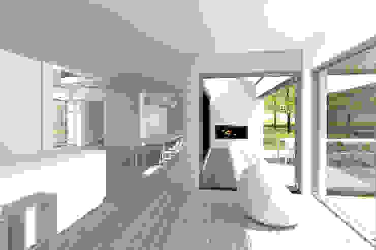 SCHUURWONING | Nieuwerkerk aan den Ijssel Moderne eetkamers van JADE architecten Modern