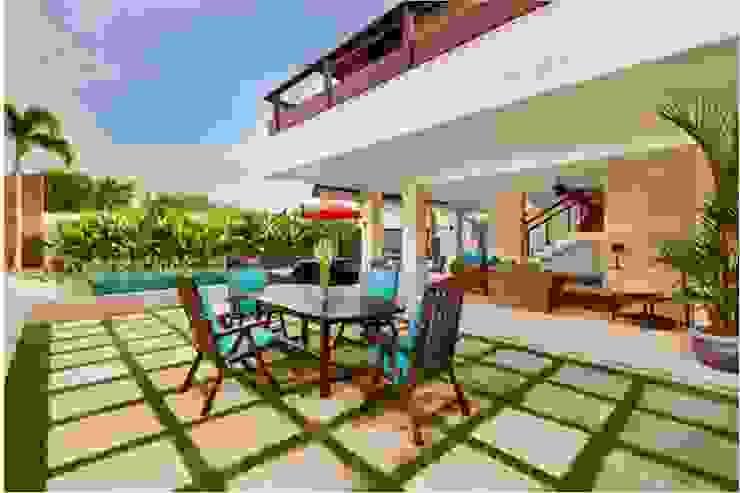 Villa Saya - Bbq area Taman Gaya Asia Oleh HG Architect Asia