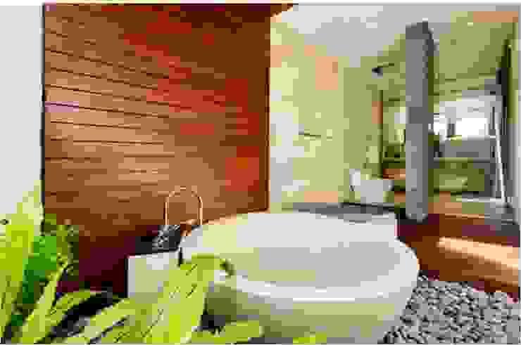 Villa Saya - Pavilion Ensuite Bathroom Kamar Mandi Gaya Asia Oleh HG Architect Asia
