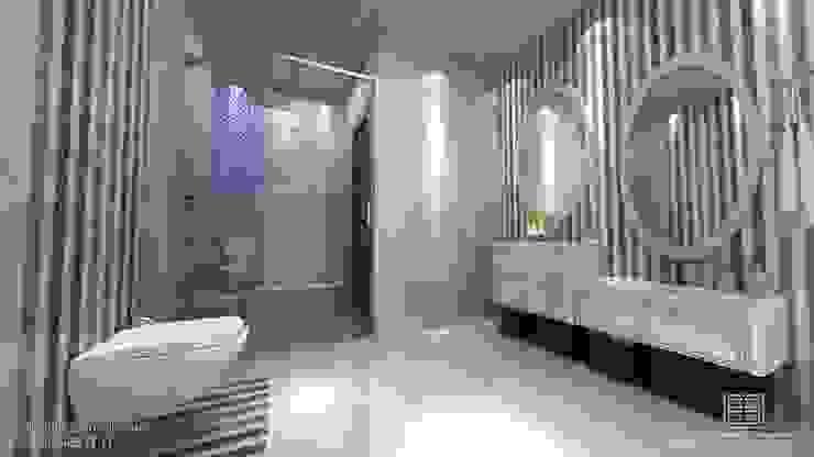 örnek daire Eklektik Banyo EN+SA MİMARİ TASARIM Eklektik