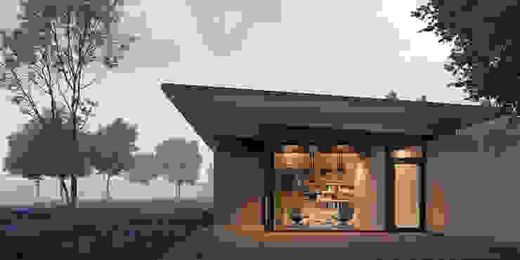 boskamer van STAAG architecten Landelijk Glas