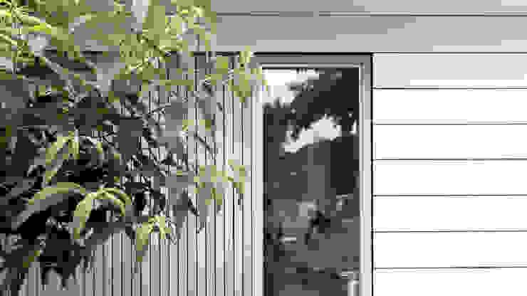 geveldetail van STAAG architecten Modern Glas