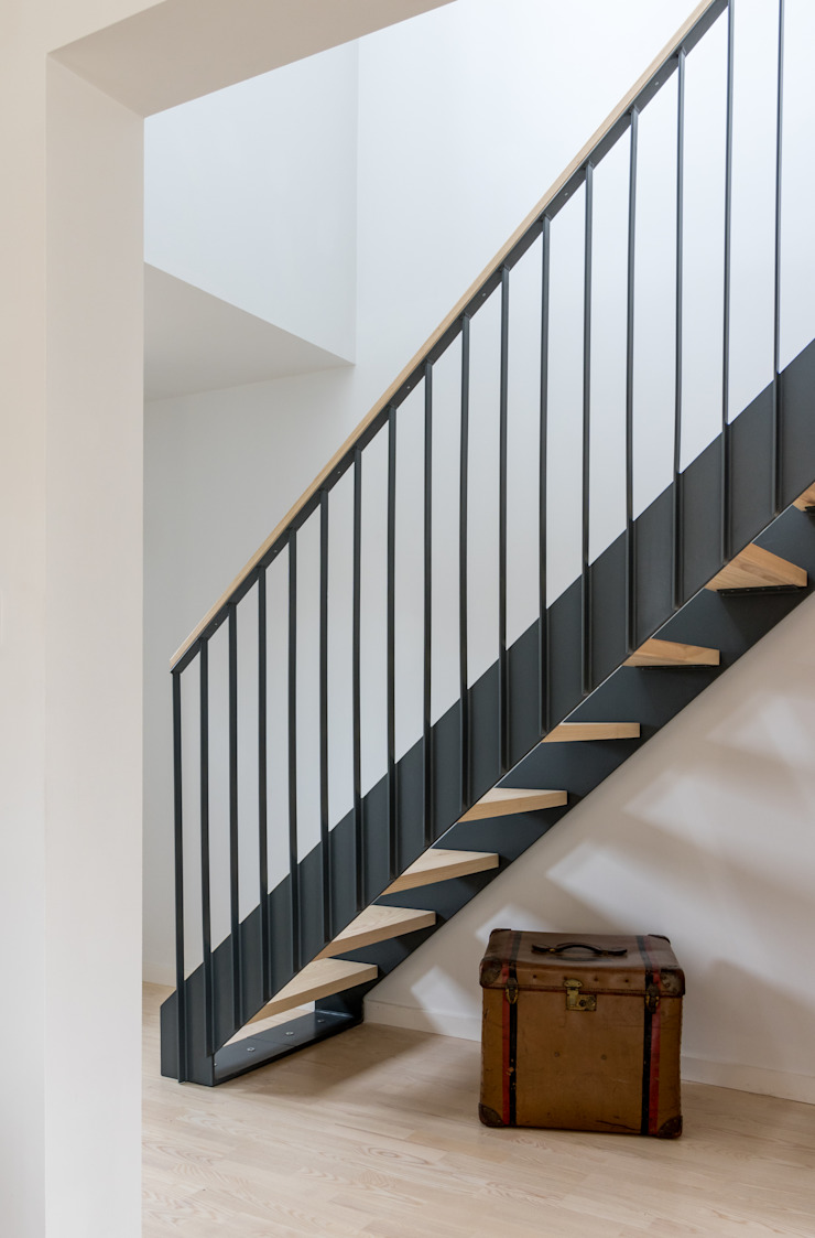 Arts & Crafts House design storey Stairs
