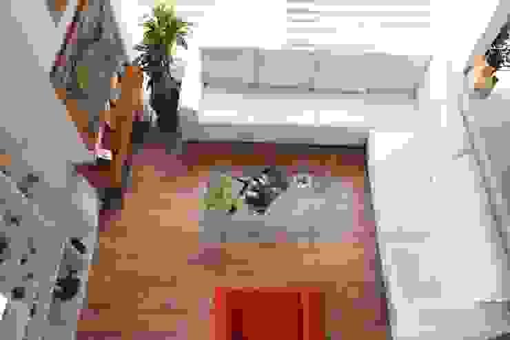Vista área social Salas de estilo clásico de ATELIER HABITAR Clásico