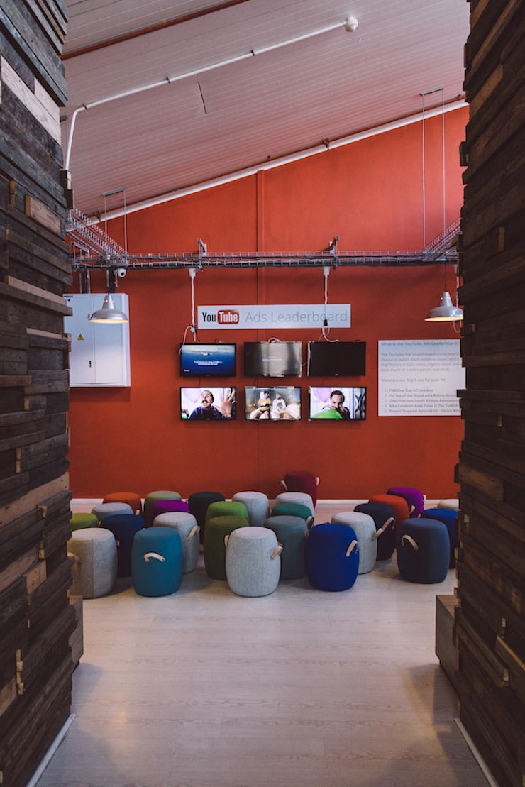 Google Pop-Up Office: industrial  by Hello Charlie, Industrial