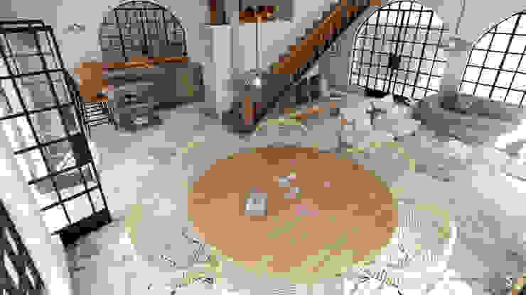 realizearquiteturaS Moderne Wohnzimmer