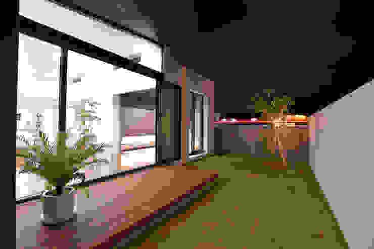 テラス、庭 Style Create モダンな庭