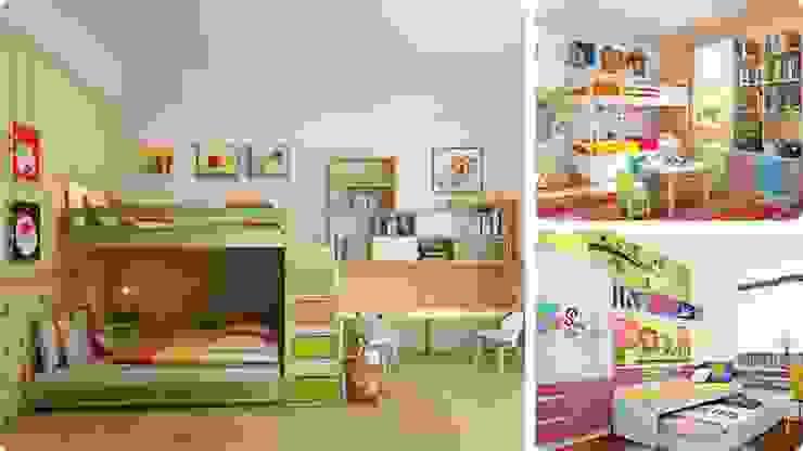 Phòng ngủ dành cho bé trong gia đình bởi Picomat Sài Gòn