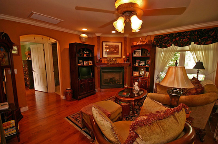 Best Interior Designer in Delhi Country style dining room by Sense Interiors Country