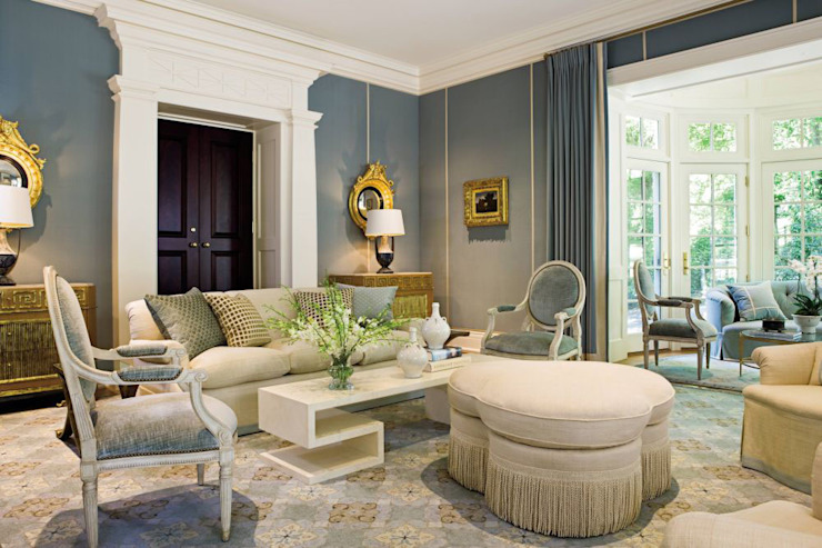 Best Interior Designer in Delhi Country style living room by Sense Interiors Country