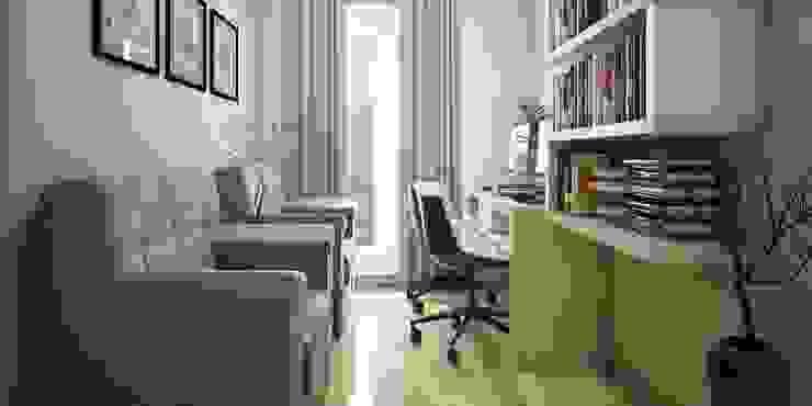 Home Interior Design Ideas Asian style study/office by Monnaie Interiors Pvt Ltd Asian