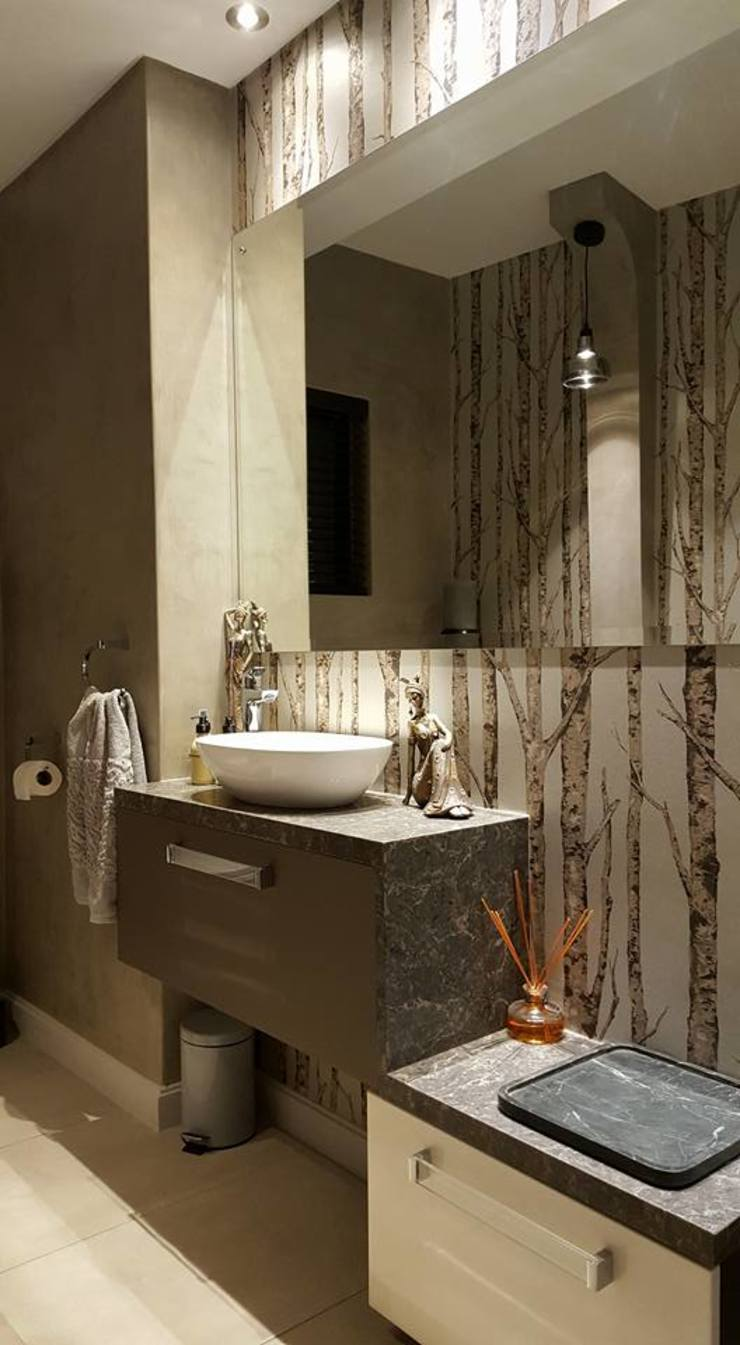 Waterfall Estates, Midrand, Johannesburg Modern Bathroom by The Guys - enhance your space, enhance your life! Modern