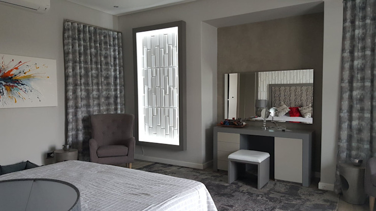 Waterfall Estates, Midrand, Johannesburg Modern Bedroom by The Guys - enhance your space, enhance your life! Modern