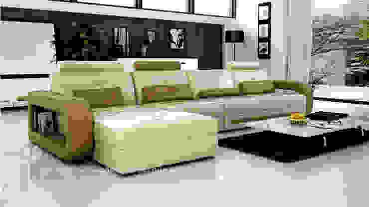 bàn ghế sofa : hiện đại  by Vĩnh Thịnh, Hiện đại Chất xơ tự nhiên Beige