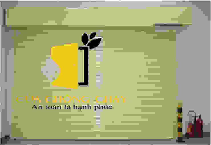 cửa cuốn chống cháy: hiện đại  by Vĩnh Thịnh, Hiện đại Thạch anh