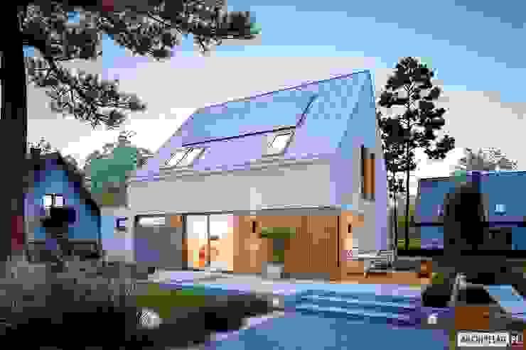 Pracownia Projektowa ARCHIPELAG Minimalist house