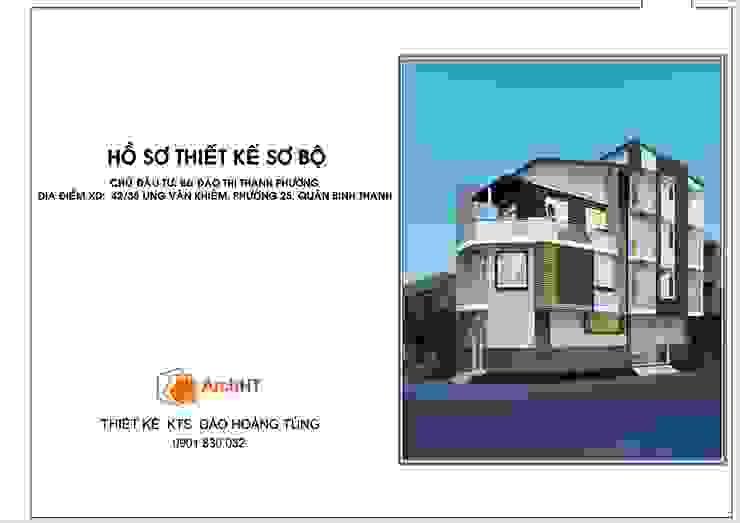 Nhà Chị Phương - Bình Thạnh bởi D.H.T Architects