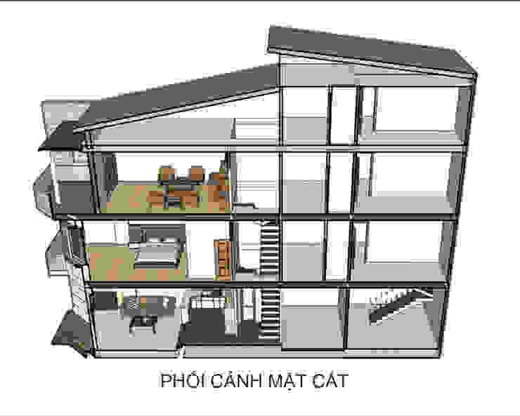 Nhà Chị Phương – Bình Thạnh bởi D.H.T Architects