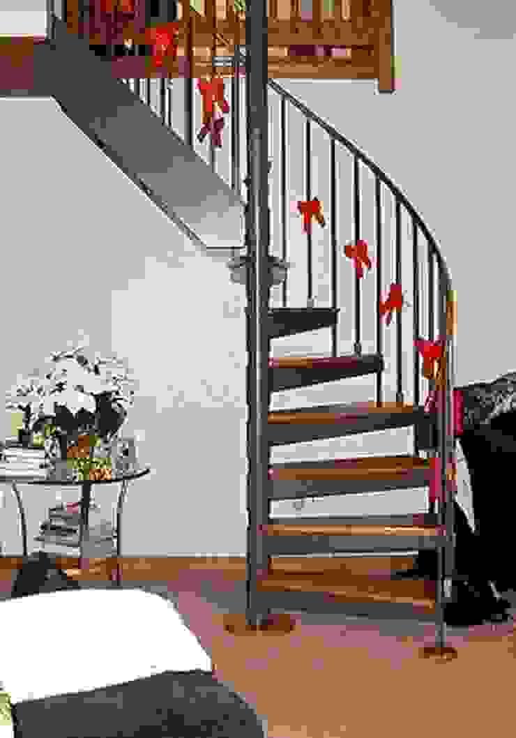 Escalera combinada modelo FLORENCIA HELIKA Scale Escaleras Madera Multicolor