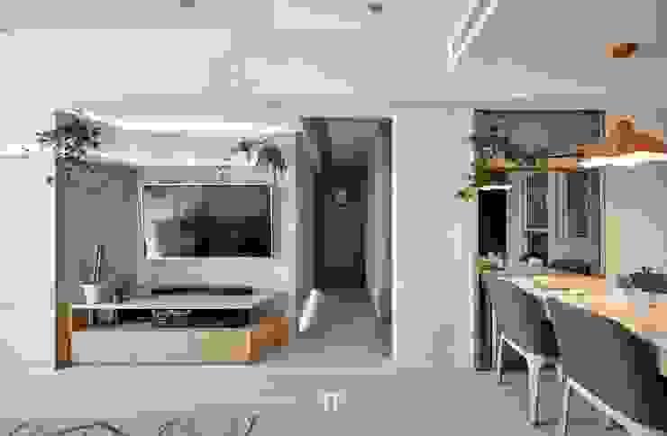 iT DESIGN 一它設計 Modern Living Room Marble Grey