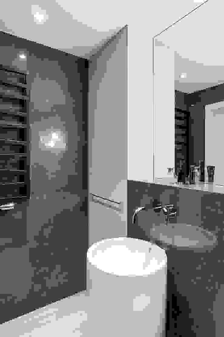 Anna Serafin Architektura Wnętrz 現代浴室設計點子、靈感&圖片