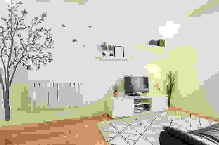 Salas de estar escandinavas por Homestories Escandinavo