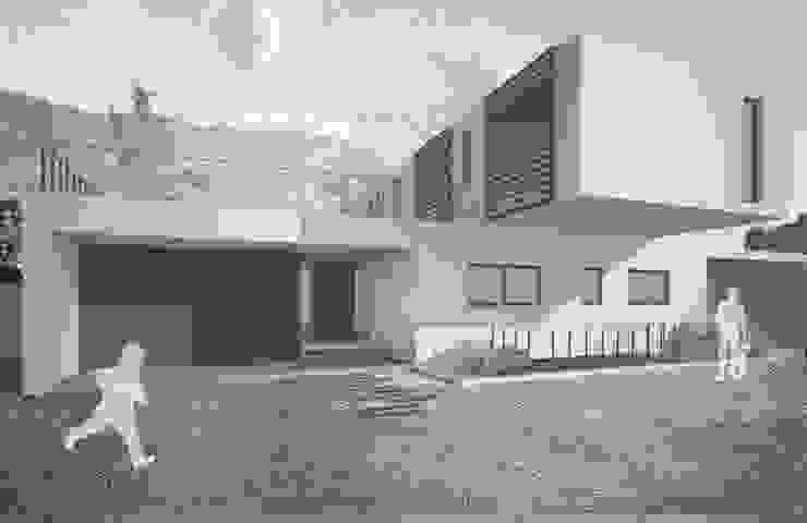 Casa Chamisero de BMAA Moderno Concreto