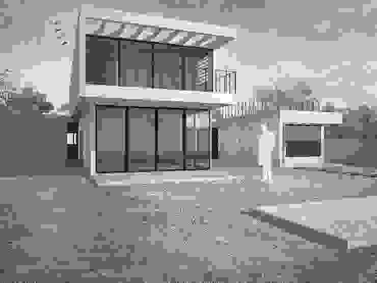 Casa Chamisero Casas estilo moderno: ideas, arquitectura e imágenes de BMAA Moderno Madera Acabado en madera
