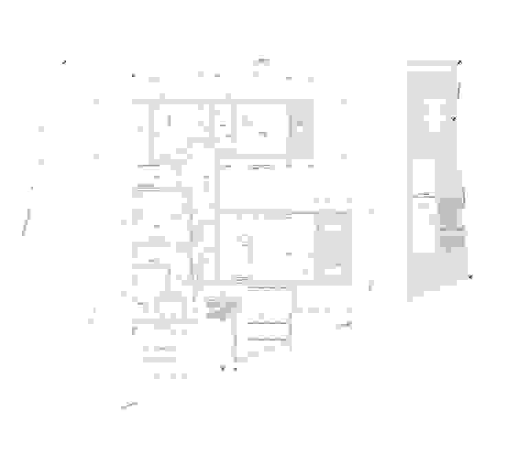 Casa Chamisero Livings de estilo moderno de BMAA Moderno