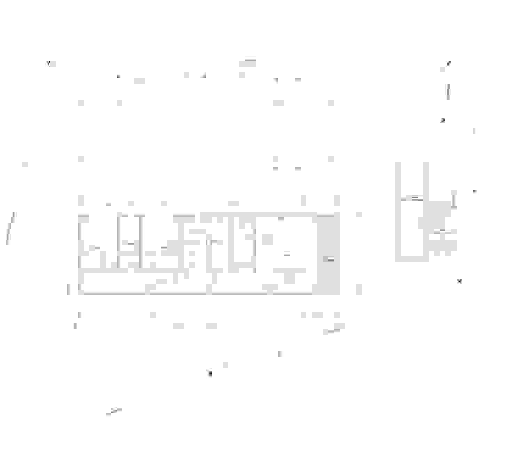 Casa Chamisero Dormitorios de estilo moderno de BMAA Moderno