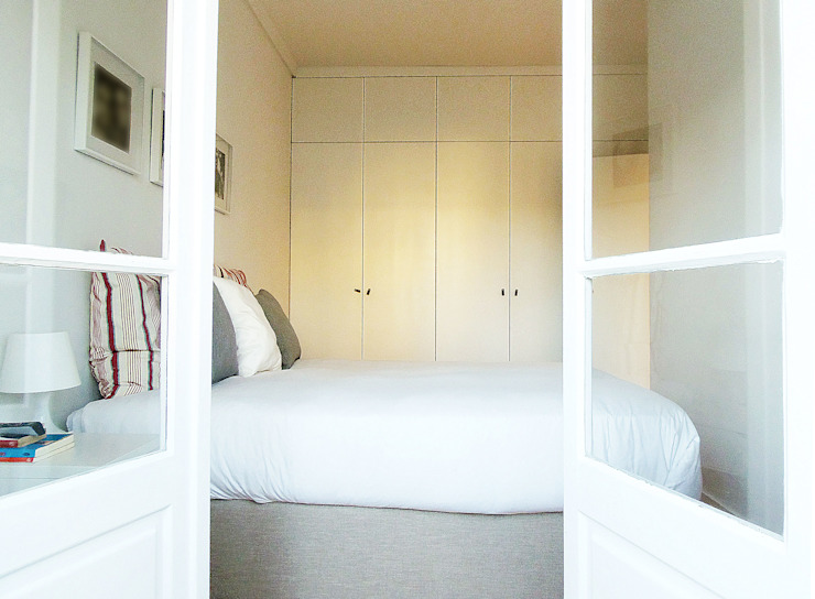 Chambre scandinave par Homestories Scandinave