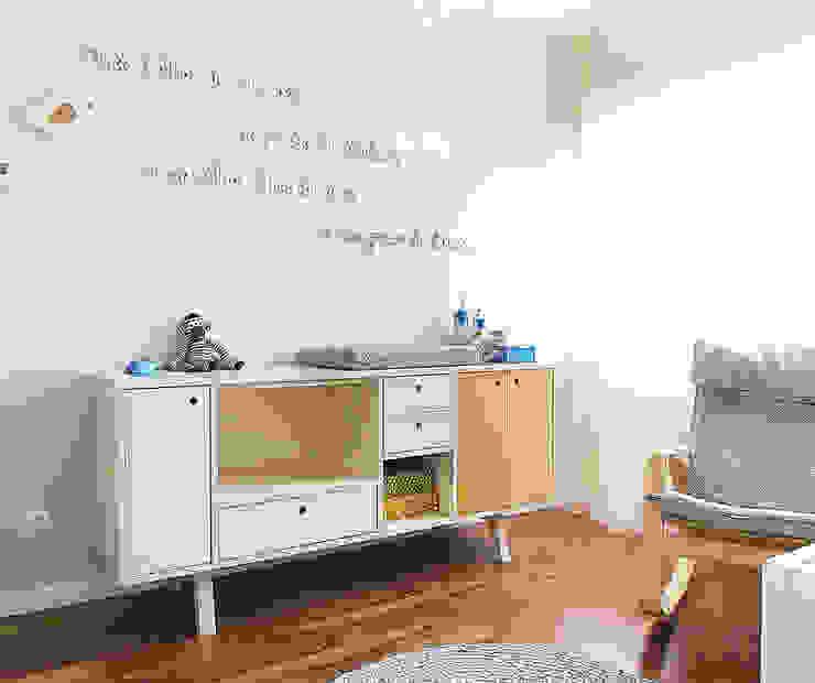 Chambre d'enfant scandinave par Homestories Scandinave
