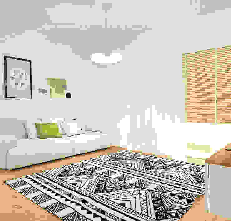 Scandinavian style living room by Homestories Scandinavian