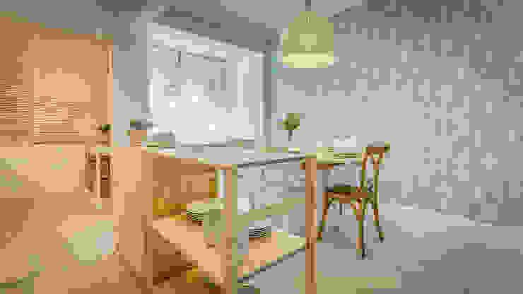 Dapur Gaya Skandinavia Oleh Homestories Skandinavia
