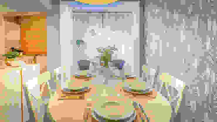 Salas de jantar escandinavas por Homestories Escandinavo