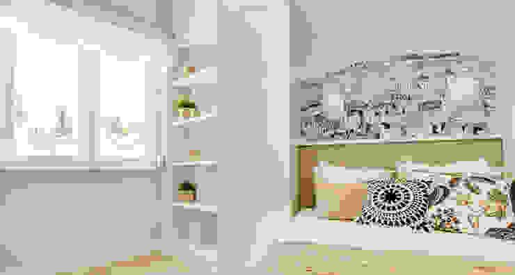 Chambre scandinave par Homestories Scandinave