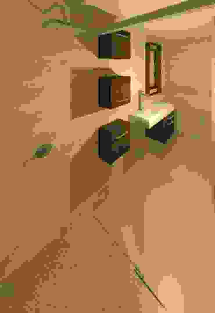 BAÑO PRINCIPAL Baños de estilo moderno de ESTUDIO KULUMAK Moderno Cerámico